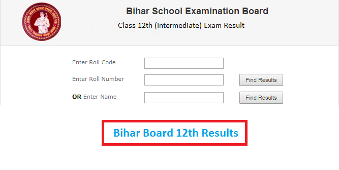 Bihar Board Intermediate 12th Result 2021