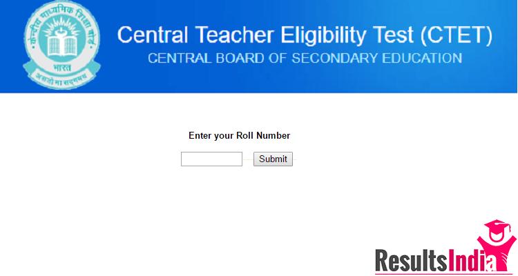 CTET Result Dec 2018 Exam